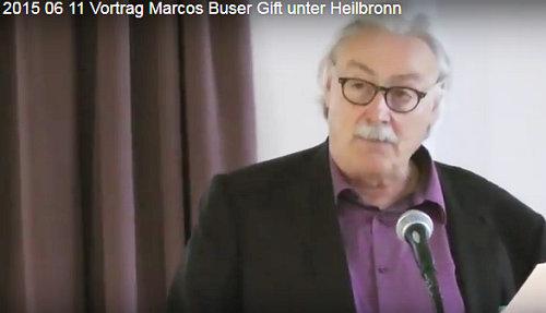 Marcos Buser im Vortrag